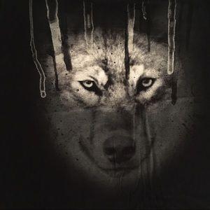 Mudd Tops - Mudd wolf long tee